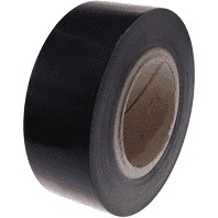 Black Low-Tack Surface Protection Tape 50mm x 100m