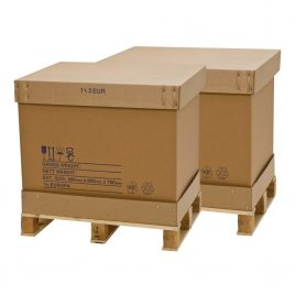1/1C Full Container Pallet Boxes only (no pallet)